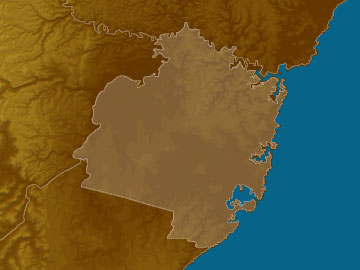 Sydney map