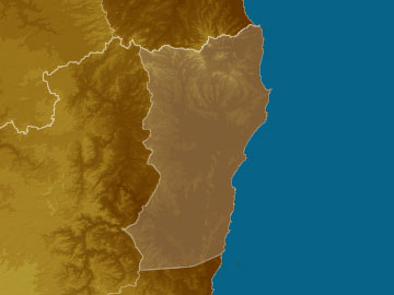 Northern Rivers map