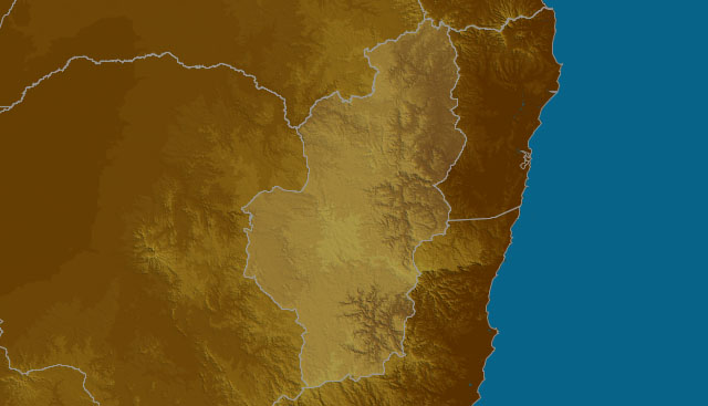 Northern Tablelands map