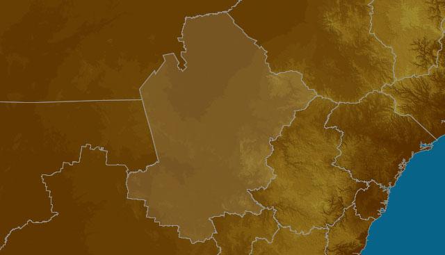 CW Slopes & Plains map