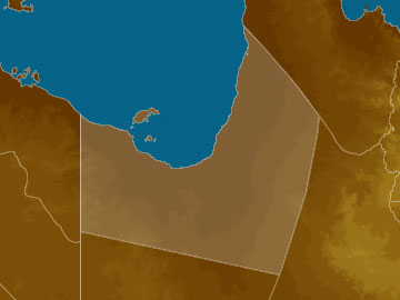 Gulf Country map