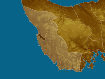 West & Sth Coast map