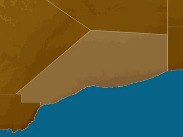Eucla map