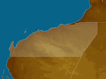 Pilbara map
