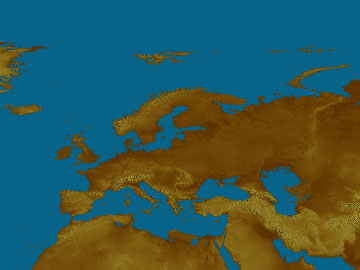 Europe map
