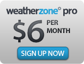 Sign up Weatherzone Pro