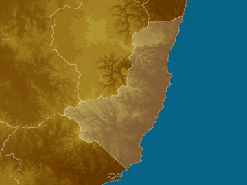 Mid North Coast map