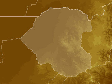 NW Slopes Plains map
