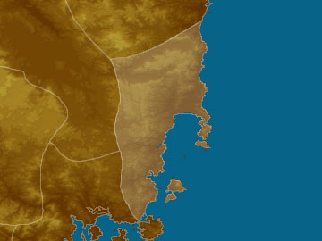 East Coast map