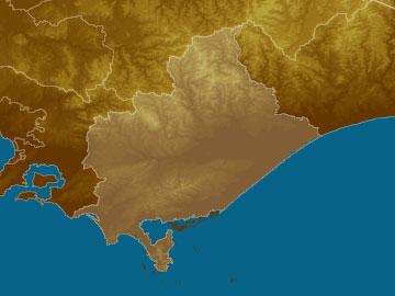 W S Gippsland map