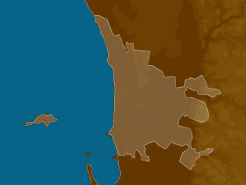 Perth map