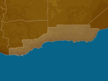 Southern Coastal map
